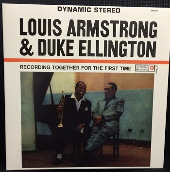 картинка Пластинка виниловая Louis Armstrong And Duke Ellington – Recording Together For The First Time (LP) от магазина