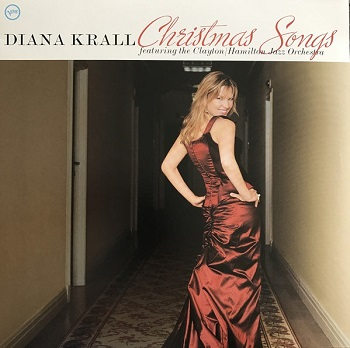 картинка Пластинка Diana Krall Featuring The Clayton/Hamilton Jazz Orchestra* ‎– Christmas Songs (LP) от магазина