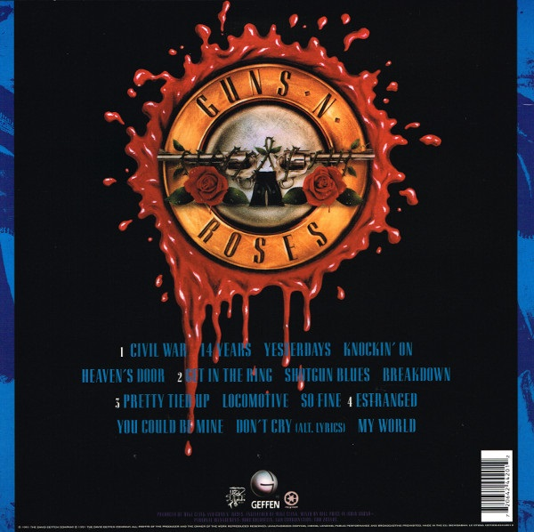 Пластинка виниловая Guns N' Roses - Use Your Illusion II
