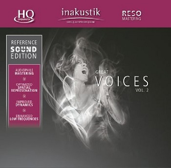 картинка CD диск In-Akustik Various - Great Voices Vol. 2 от магазина