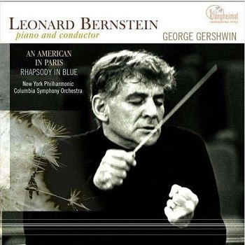 картинка Пластинка виниловая Leonard Bernstein, George Gershwin, New York Philharmonic*, Columbia Symphony Orchestra ‎– Piano And Conductor: An American In Paris / Rhapsody In Blue (LP) от магазина